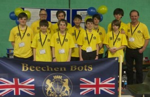 Beechen Bots team at FLL UK Feb 2015